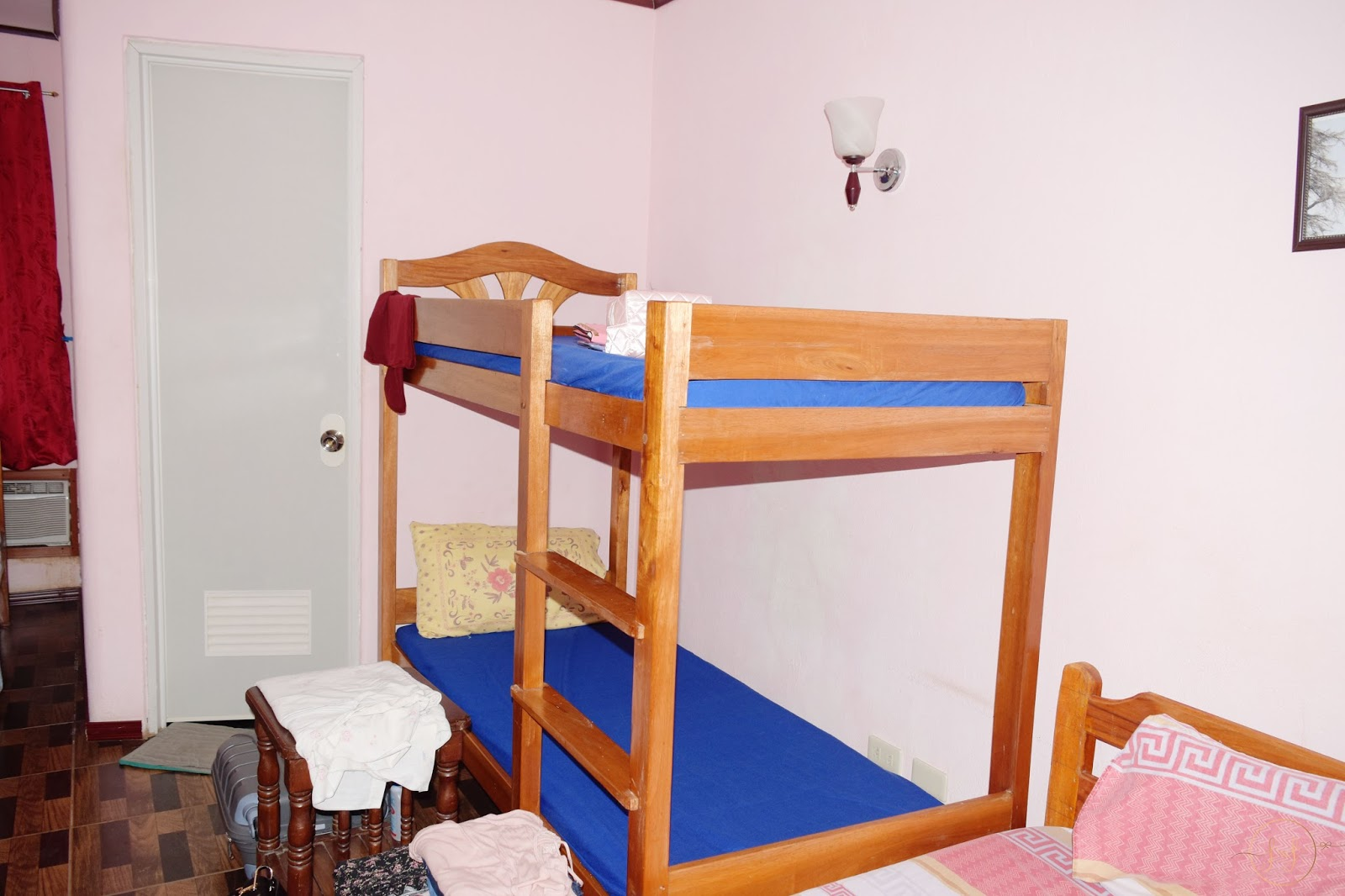Amazing Next to my bed was bunk beds My cousin got the bottom bunk and we used the top bunk as storage It was really useful and got all our suitcases out of
