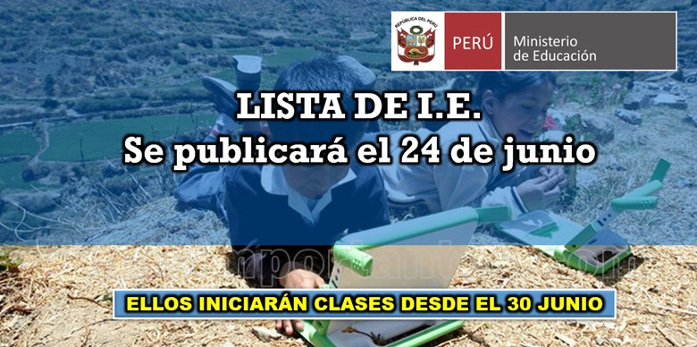 lista de instituciones educativas