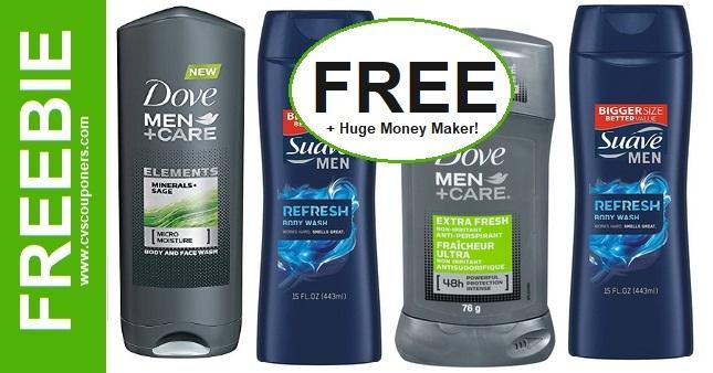 FREE Dove Men + Care Body Wash CVS Deals 11-8-11-14