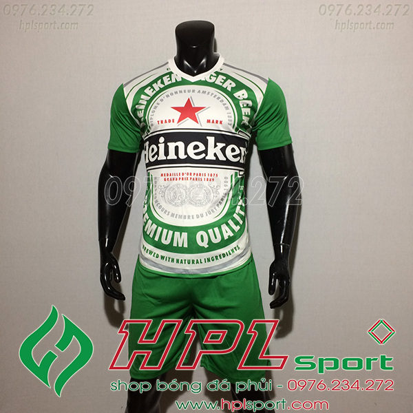 Áo Tự Thiết Kế Theo Yêu Cầu - Beer Heineken