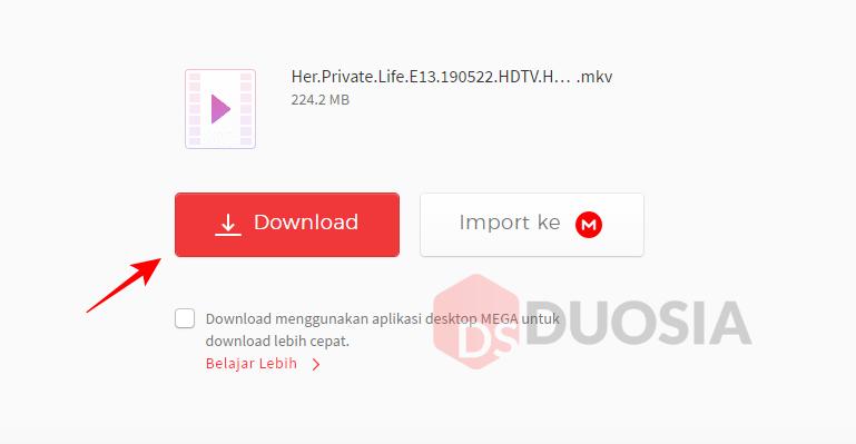 Tutorial Download di Situs MEGA Tanpa Aplikasi Tambahan