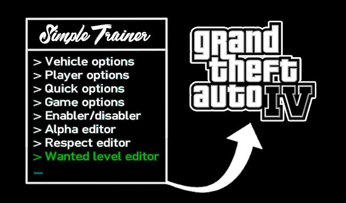 GTA IV Simple Cheat Menu Trainer /  You Should Download