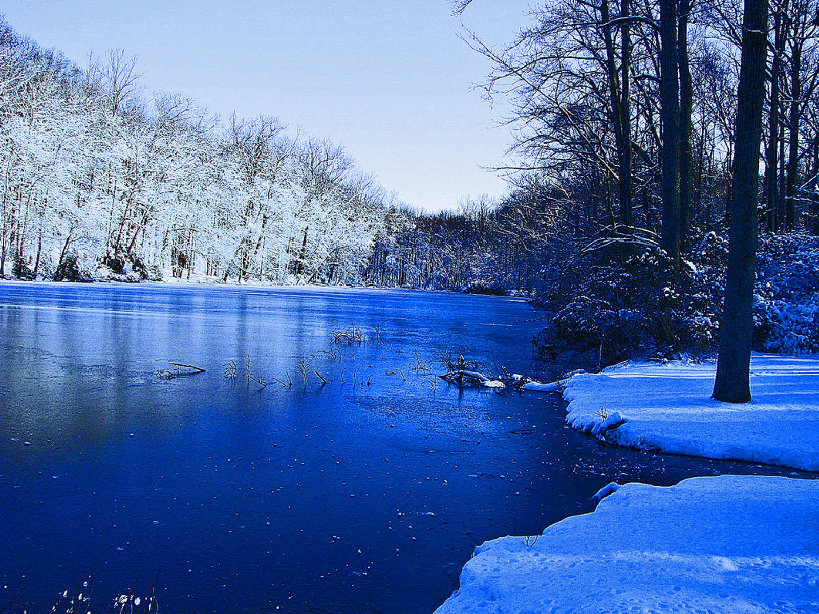 HD widescreen wallpapers: Nice Winter Scenery Desktop ...
