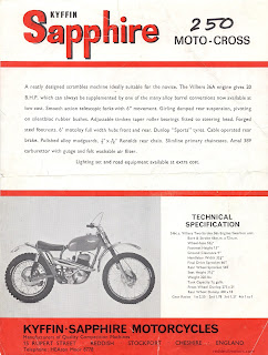 Kyffin Sapphire 250 Moto-Cross