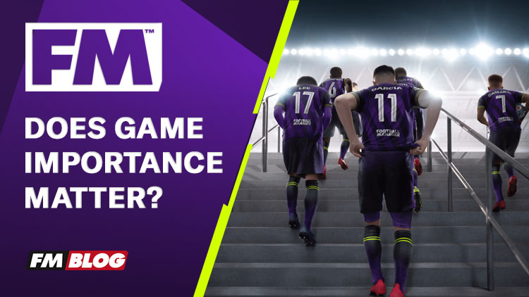 Does Game Importance matter for a nation in Football Manager