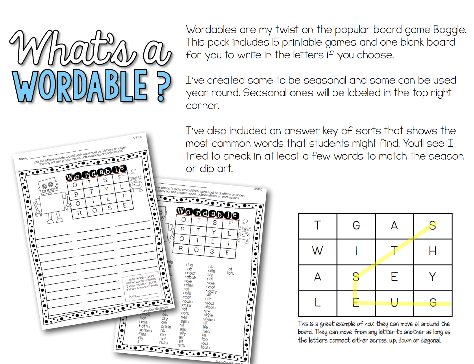 Boggle Your Kids