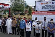 """Tiga Pasangan Calon Bupati dan Wakil Bupati Sleman Sepakat """" 3 M 1 T"""" dalam Deklarasi Kampanye Damai"""
