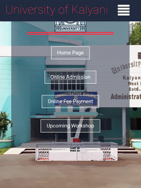 Master of Business Administration(MBA) Online Application Form fill-up