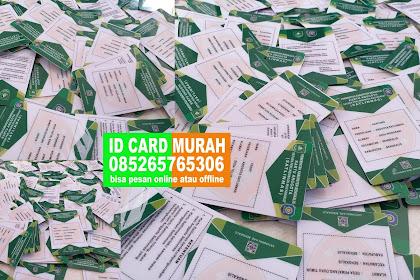 BUAT ID CARD DARI RUMAH PKU