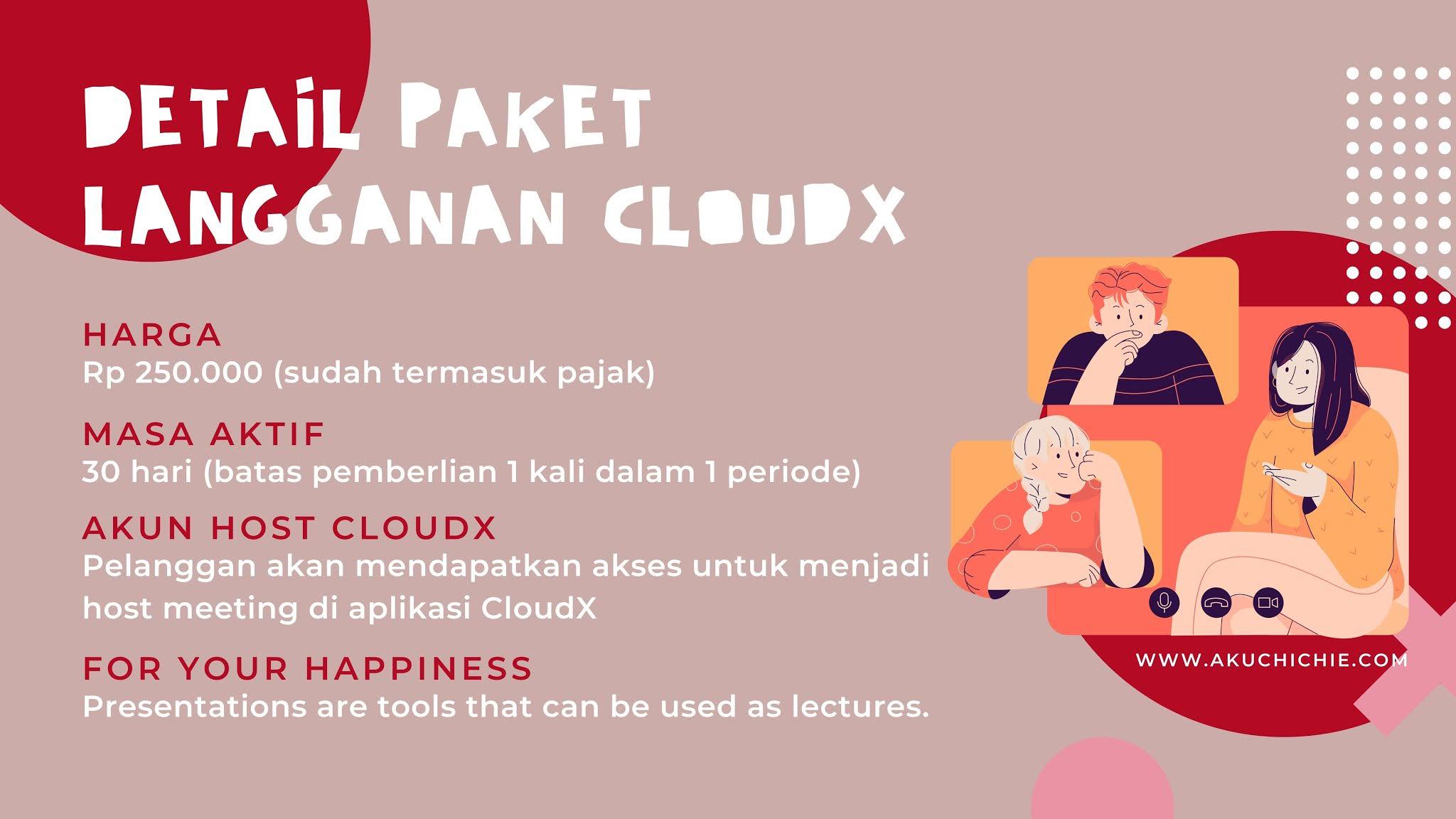 paket berlangganan cloudx