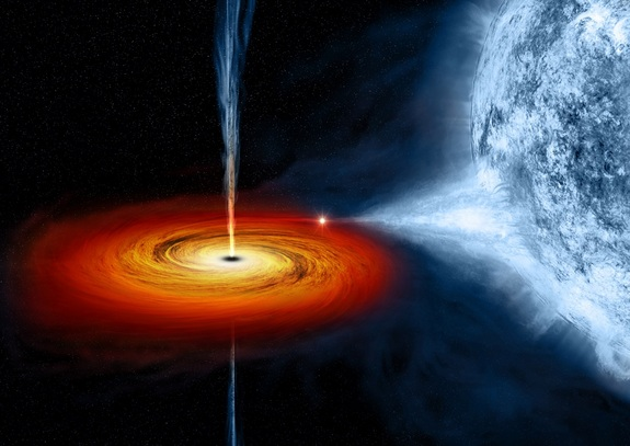 Mungkinkah Black Hole Adalah Pintu Gerbang Menuju Alam Semesta Lainnya?