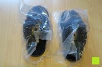 Plastiktüte: BOnova® Helsinki - Warme und kuschelige Hausschuhe aus echtem Lammfell in 5 Farben für Damen
