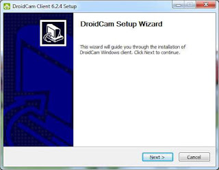 droidcam install