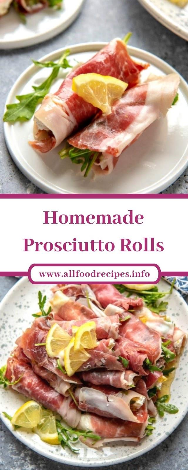 Homemade Prosciutto Rolls