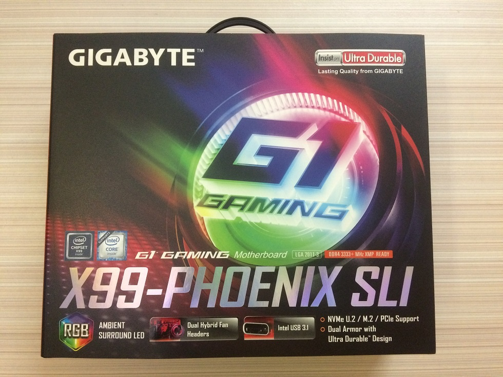 Gigabyte X99 Phoenix SLI Motherboard Review ~ Computers and More