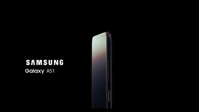 تسريب مواصفات هاتف Samsung Galaxy A51