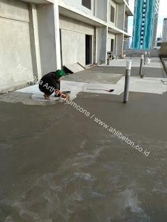 waterproofing coating dak pada bangunan