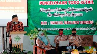 Bimtek PDM Muhammadiyah Jepara kerjasama Dengan PDM Ponorogo