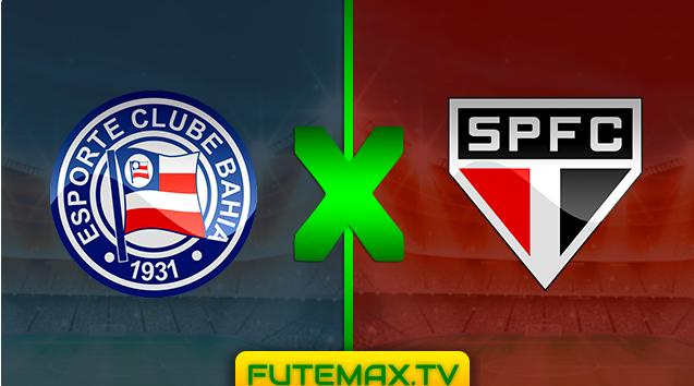 Assistir BAHIA X SÃO PAULO ao vivo online - Copa do Brasil - 29/05/2019 21s30 com transmissão do canal Globo, SPORTV e PREMIERE (FUTEMAX)