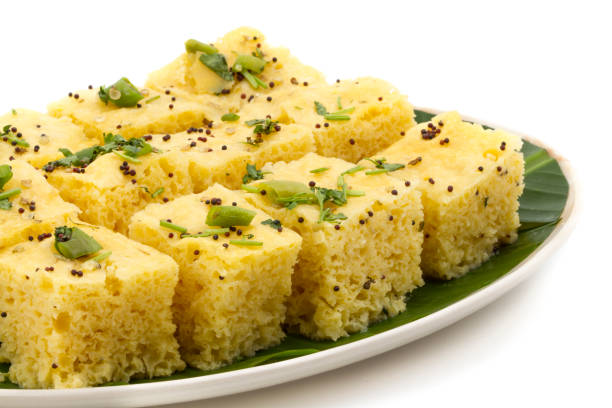 Gujarati Dhokla- Shettypassion