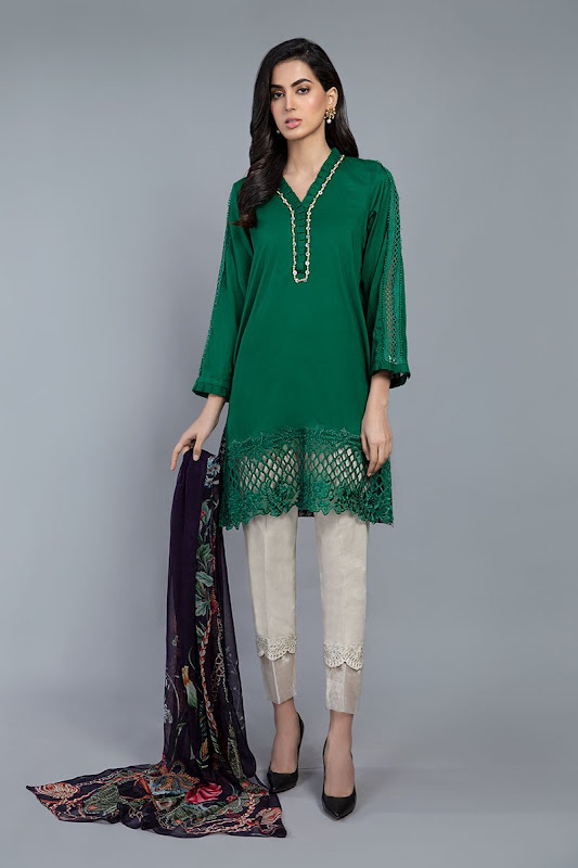 Maria B Green Suits summer lawn collection
