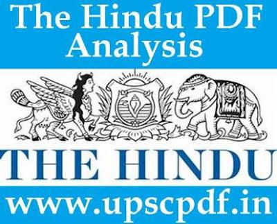 The Hindu Newspaper Analysis