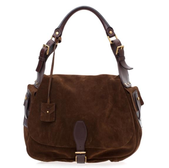 Olhe que bela bolsa de couro