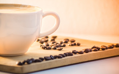 coffee mug with beans widescreen resolution hd wallpaper