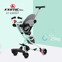 Kursi Dorong Bayi Exotic ET-LW007 magic stroller
