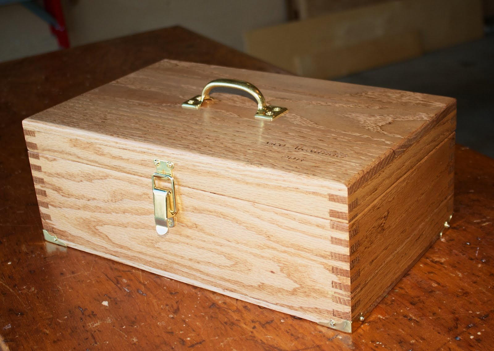 Wood Carving Tool Box PDF Woodworking
