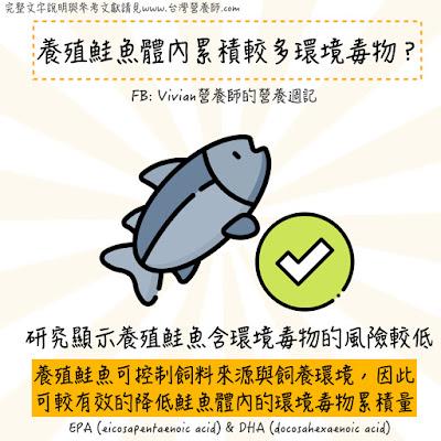 台灣營養師Vivian【食事趨勢】養殖鮭魚比較不營養?