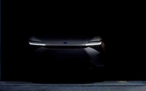 Toyota mostra teaser de novo SUV 100% elétrico: lançamento dia 19 na China