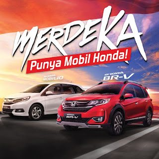 PROMO 17 AGUSTUS, PAKET KEMERDEKAAN, MOBILIO, BRIO, JAZZ, BRV, HRV, CIVIC TRUBO, CRV TURBO, CITY,  ACCORD TURBO