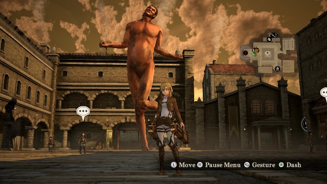 Download Game Attack on Titan PC Games Gameplay
