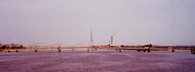 Июль 1984 года. Рига. Идет строительство Телебашни и телецентра на Закюсала