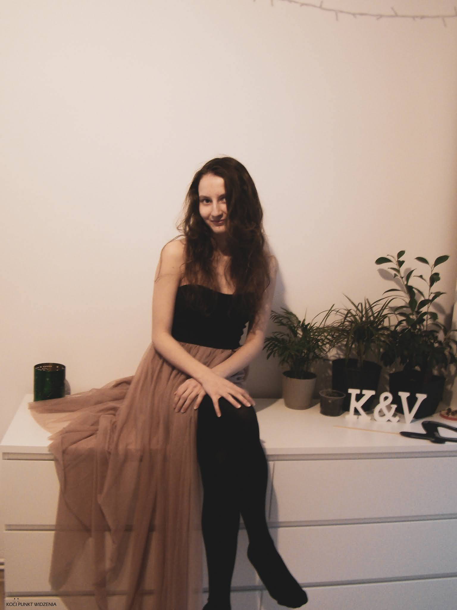 sukienka na studniówkę tiul