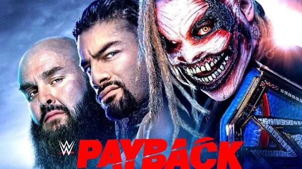 Ver Repetición Wwe Payback 2020 En Español - English