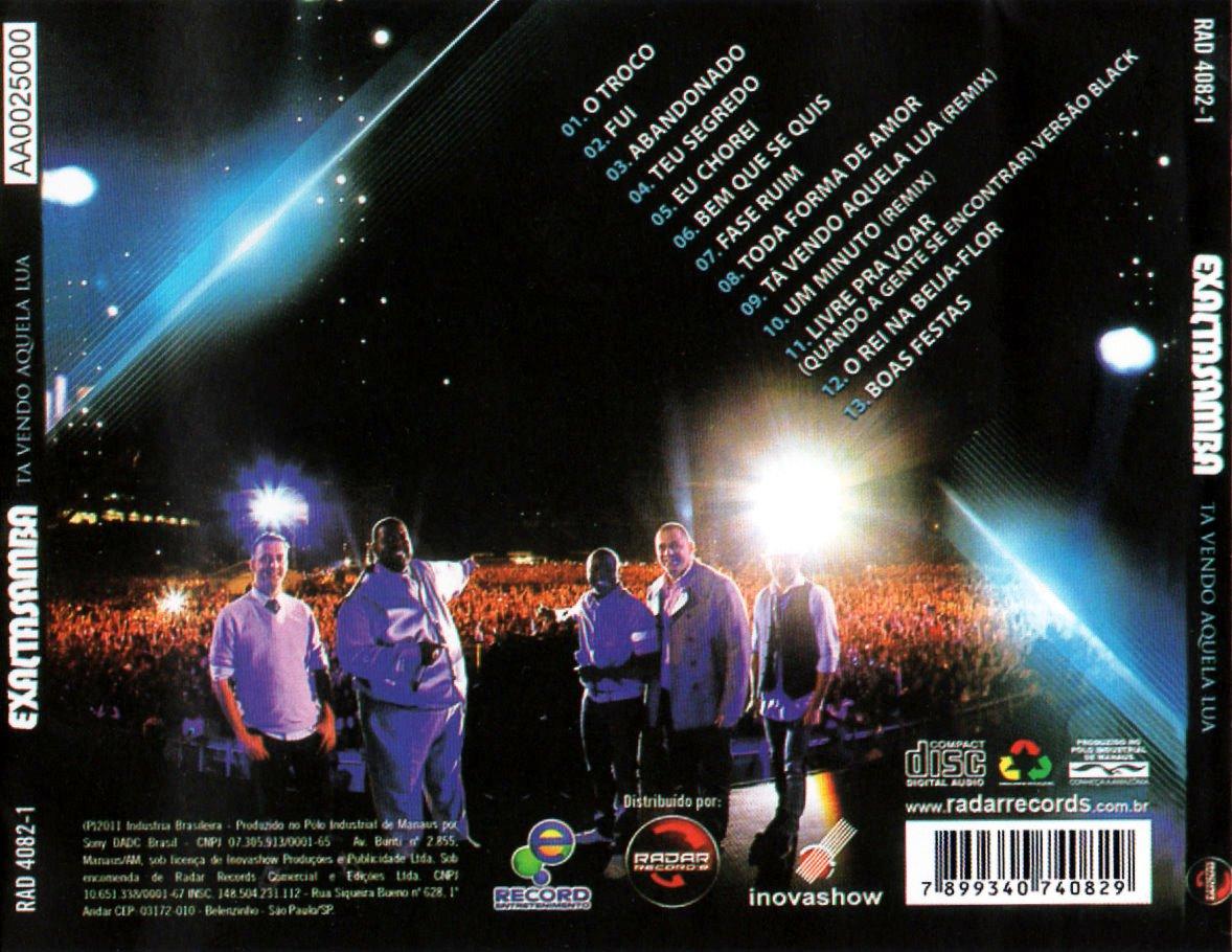 EXALTASAMBA DVD OS DO AUDIO SAMBAS TODOS BAIXAR