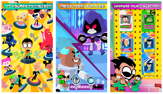 77 Teeny Titans characters for players to pick