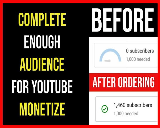 YouTube Monetize Targeted 1000+ Active Subscribers For $99.00
