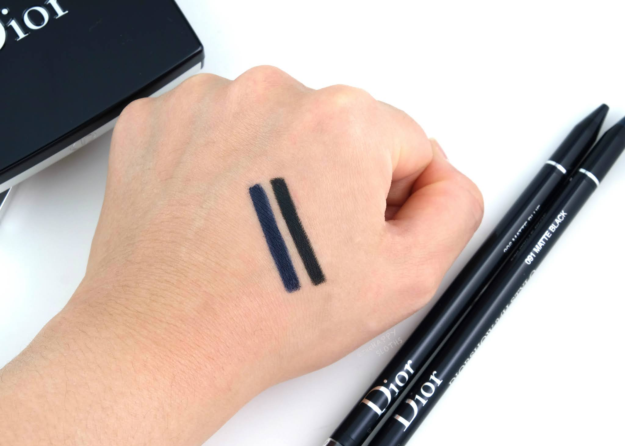 Dior | Diorshow 24H Stylo Waterproof Eyeliner: Review and Swatches