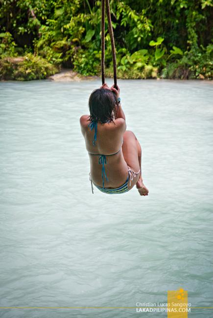 Cambugahay Falls Siquijor Rope Swing