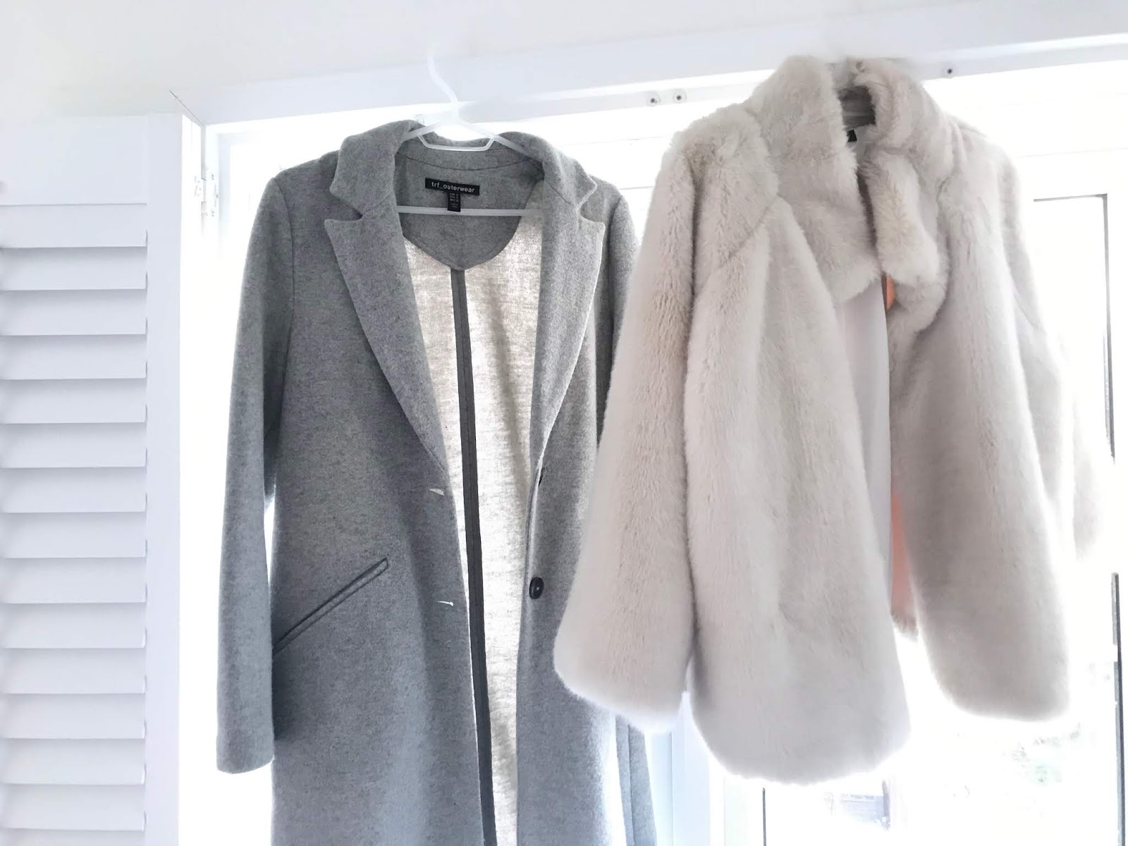 Warmer coat options for spring evenings