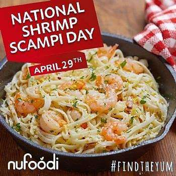 National Shrimp Scampi Day Wishes Lovely Pics