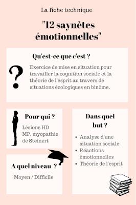 12 saynètes pour travailler la cognition sociale - Lucie Jardin d'ortho