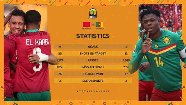 المنتخب المغربي و المنتخب الكاميروني