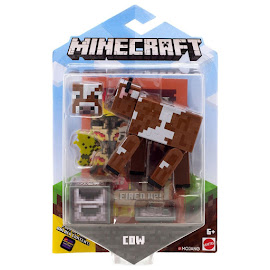 Minecraft Cow Survival Mode Figure