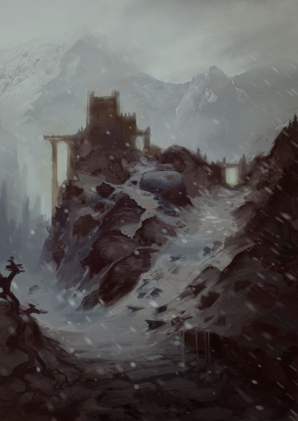 Games Design UCLan Blogspot Topical digital painting with sample