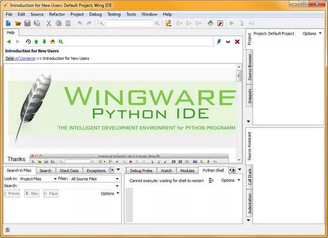تحميل برنامج Wing IDE Professional 7.2.2 لمبرمجي Python