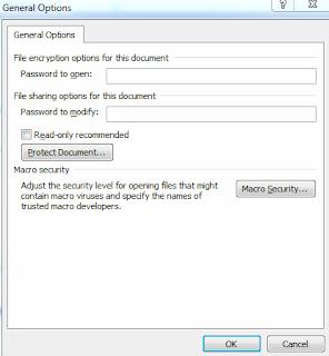 Cara Memasang Dan Menghapus Password Pada Aplikasi Microsoft Office 2010